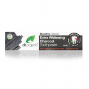 Dr.Organic Εxtra Whitening Charcoal Toothpaste 100ml