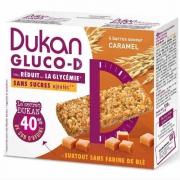 Dukan Μπάρες βρώμης GLUCO-D με γεύση καραμέλα ΝΕΟ