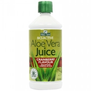 Optima Aloe Vera Juice Maximum Strength Cranberry 500ml/1lt.