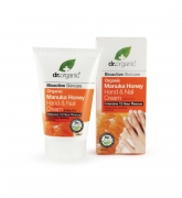 Organic Manuka Honey Hand & Nail Cream 125ml Dr Organic