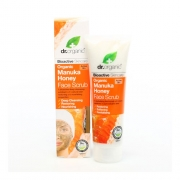 Organic Manuka Honey Face Scrub 125ml Dr Organic