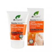 Organic Manuka Honey Foot & Heel Cream 125ml Dr Organic