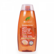 Organic Moroccan Argan Oil Body Wash 250ml Dr Organic