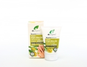 Organic Olive Oil Hand & Nail Cream 125ml Dr Organic