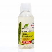 Organic Tea Tree Mouthwash 500ml Dr Organic