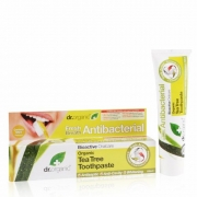Organic Tea Tree Toothpaste 100ml Dr Organic