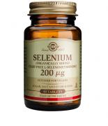 Solgar Selenium 200μg 50/100/250 tabs