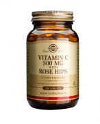 Solgar Vitamin C with Rose Hips 500mg 100 tabs
