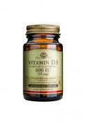 Solgar Vitamin D3 600IU 60 softgels