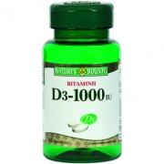 Βιταμίνη D3 1000IU NATURE 'S BOUNTY 100s