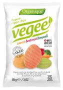 Πατατάκια Vegee με καρότο, παντζάρι και μπρόκολο Organique
