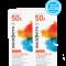 Macrovita Σετ Αντηλιακή κρέμα προσώπου με χρώμα SPF 50 2x50ml